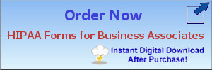 HIPAA Forms for Business Associates